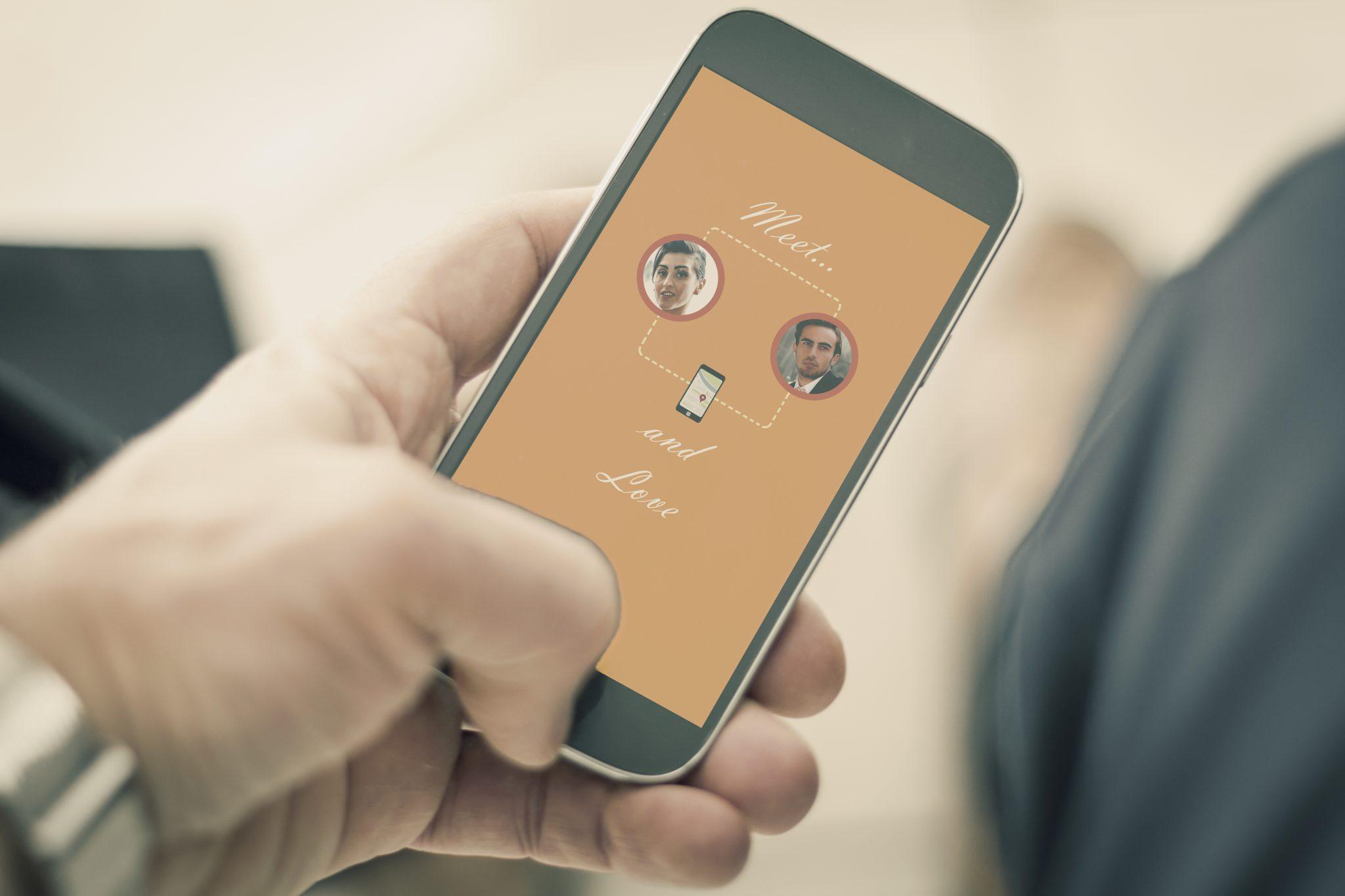 Marketing dating app