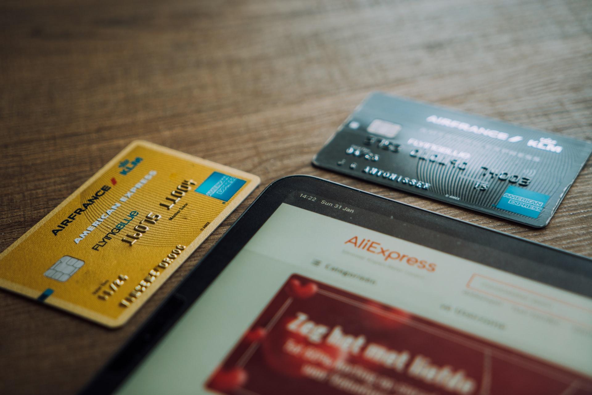 Customer loyalty cards.